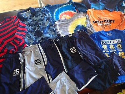 Boys Size 8 Fall Clothes Lot of 14 Pieces  Lands end, OshKosh, Childrens Place