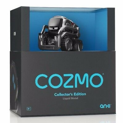 Cozmo Liquid Metal Collectors Edition Toy Real Life Robot by Anki NEW