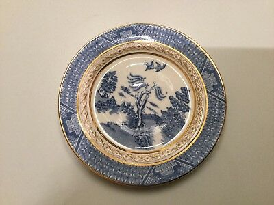 A pretty Booths Silicon China miniature plate