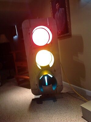 Traffic Light Automatic Vintage Eagle Signal Man Cave  Working Controller stop