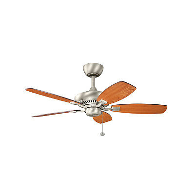 "Kichler Canfield 44"" Ceiling Fan in Brushed Nickel"