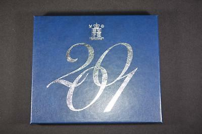 2001 Royal Mint United Kingdom (10) Coin Proof Collection Set Great Britain