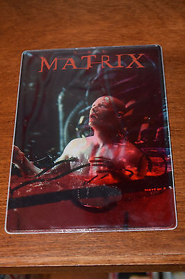 THE MATRIX Promotional Mouse Pad Mat 1998 Blood Keanu Reeves No DVD Blu-ray