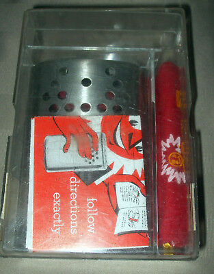 Vint Jon-e Warmer In Case w Bag Lights Cigarettes Heats 2 Days NOS Free Shipping