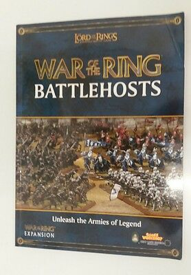 The Lord of the Rings  strategy battle game book war of the ring battlehosts