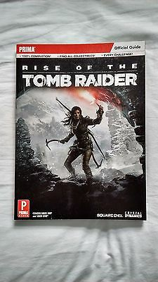 Rise of the Tomb Raider Official PRIMA Strategy Guide NEW Condition 2015