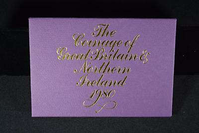 1980 Coinage Of Great Britain & Northern Ireland (6) Coin Proof Set