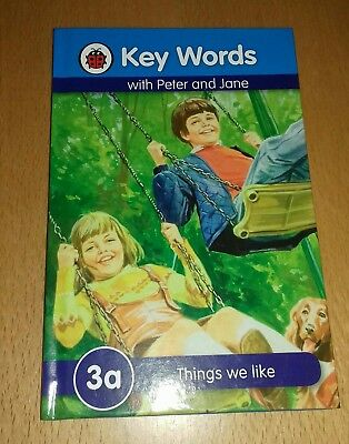 Ladybird Reading Book Peter And Jane Key Words Things We Like. 3A
