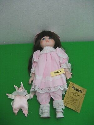 """Libby 14"""" Connoisseur Collection Doll Seymour Mann Certificate Authenticity"""