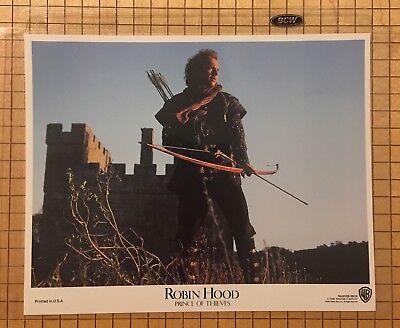 Robin Hood Prince Of Thieves (1991) US Lobby Card Set *Mint* Kevin Costner