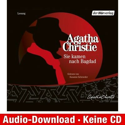 Hörbuch-Download (MP3) ★ Agatha Christie: Sie kamen nach Bagdad