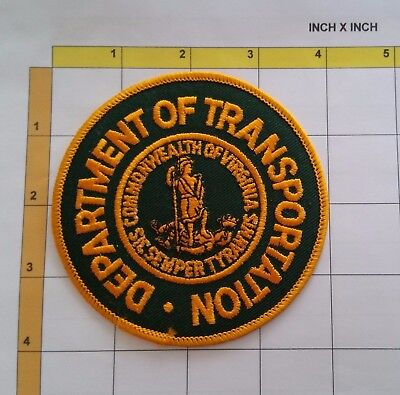 Virginia Dept Department of Transportation Office Obsolete Patch
