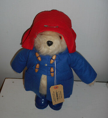 Vintage PADDINGTON BEAR Plush 1981 gabrielle England