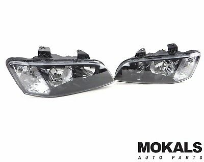 Headlights Left & Right Sides Pair for Holden Commodore VE series 1 2006-2010