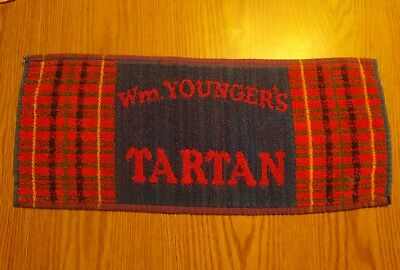 (Look) Wm Youngers Beer bar pub cloth towel game room man cave