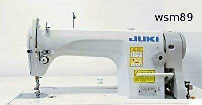 "Juki DDL-8700 Sewing Machine *20 EXTRA NEEDlES* FREE SHIP- ""T"" Legs- Servo Motor"