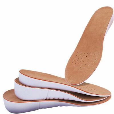 1.5/2.5/3.5CM Height Arch Support Pads Heel insert Increase Taller Shoe Insoles