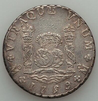 Mexico 8 Reales 1759 - About Uncirculated