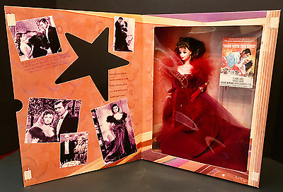 NRFB Gone With The Wind Scarlett O'Hara Barbie Red Dress w/Feathers 1994 Vintage