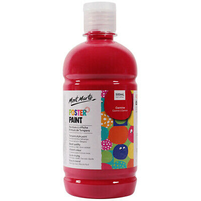 Mont Marte Kids - Poster Paint 500ml - Carmine