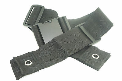Universal Wheelchair Compact Secure Seat Belt 50mm Width , Pelvic Clamp Style