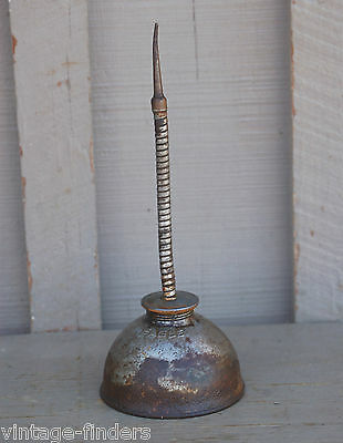 Old Vintage Eagle Oil Can Mechanics Tool Rat Rod Man Cave Garage Tool Decor USAc