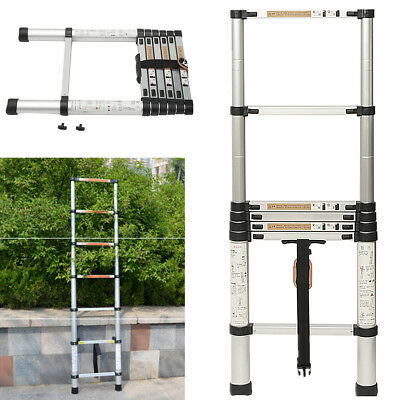 Extension Extendable Ladder 2m Multipurpose Foldable Telescopic Aluminium Alloy