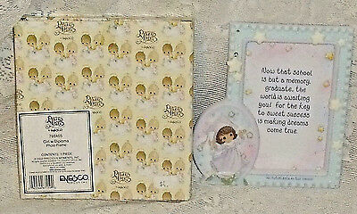 Precious Moments Photo Picture Frame Girl With Diploma New in Box Hispanic
