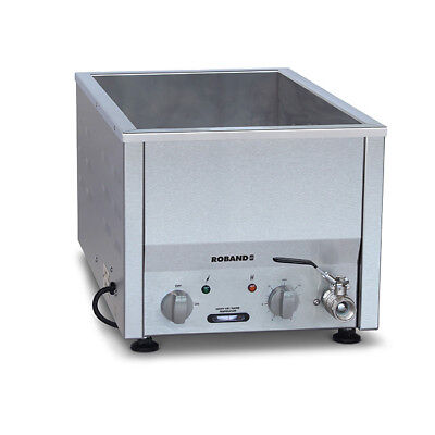 Bain Marie Hot 1/1 Size Empty No Pans Roband Food Warmer Side Control BM21 NEW