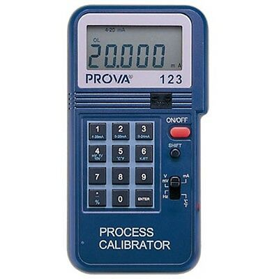 Process Calibrator 4-20mA 0-12V Frequency 2-50KHz K J E T Type Thermocouple