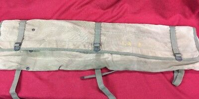 Vintage Military Us Army Tool Folding Canvas Carrier Bag Trench Digging Shovel ?
