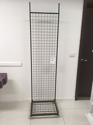 Black Mesh Display Stand Shop Fitting