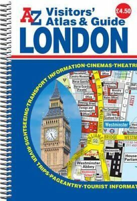 London Visitors Atlas & Guide by Geographers' A-Z Map Company 9781843488958
