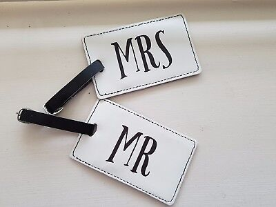 Mr & Mrs Luggage Tag (Pack of 2)