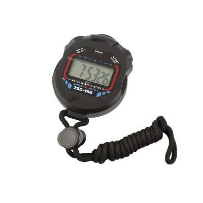 Professionelle Handheld Digital LCD Chronograph Sports Stoppuhr Timer Stoppuhr
