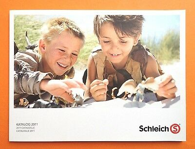 SCHLEICH HÄNDLERKATALOG 2011 DIN A4 TRADE CATALOGUE KATALOG BOOK - 184 Pages
