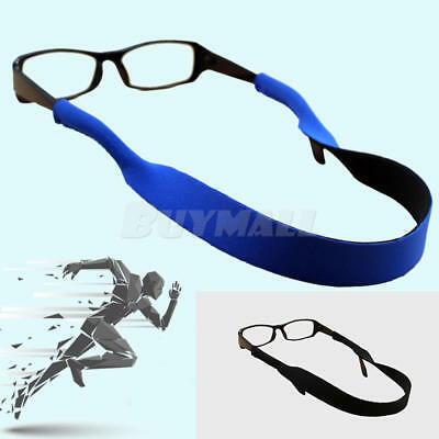 Rubber-Glasses Strap Chain Cord Holder Neck Eyeglass Lanyard for Sports Hot x 2