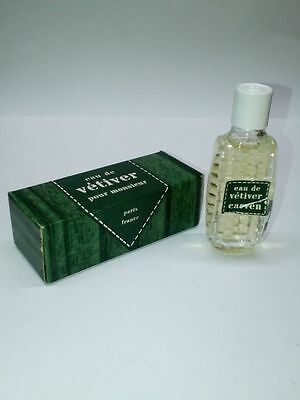 Eau de VETIVER pour monsieur - Paris France - Carven - 1/3 fl.oz.