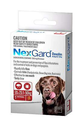 Nexgard Flea And Tick Chew For Large Dogs