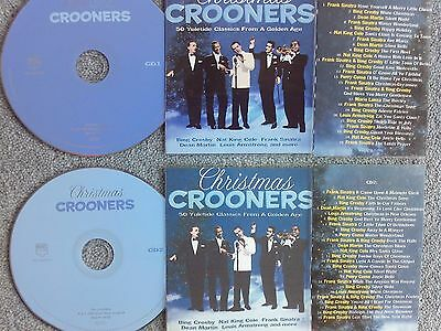 Christmas Crooners 2 x Jukebox CDs for NSM Jukeboxes + matching Title Cards.