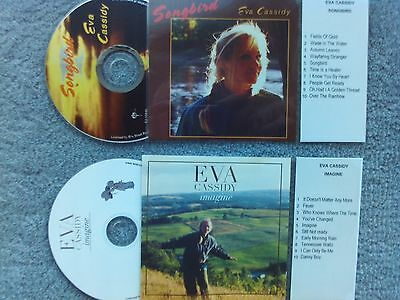 Eva Cassidy  2 x Jukebox CDs for NSM Jukeboxes + matching Title Cards