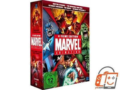 Marvel Animation Vol. 1 (Doctor Strange, The Invincible Iron Man, Ultimate Ave S