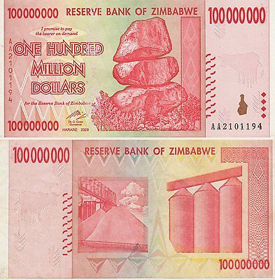 Zimbabwe 50 Billion Dollars X 15 PCS Used Notes USA SELLER Giraffes JAE47