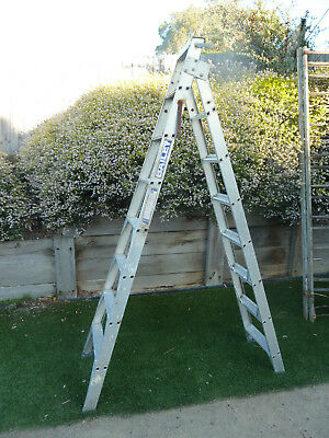 2.4 Meter- 4.4 Meter alloy ladder, Item 364, Pick up Langwarrin