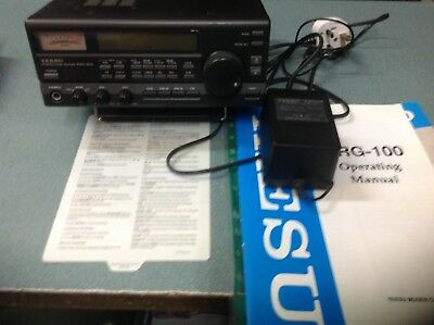YAESU FRG-100 Shortwave receiver covers 50KHz to 30MHz AM/USB/LSB/CW +psu