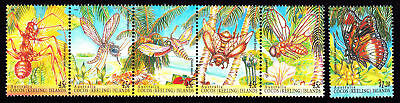1995 Cocos (Keeling) Islands Insects (MUH)