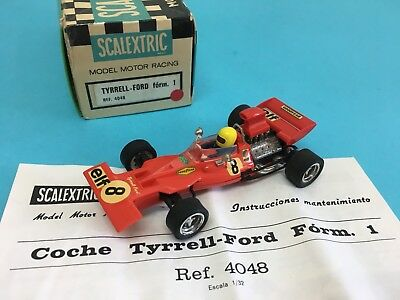 TYRRELL FORD Form 1 ROJO SCALEXTRIC EXIN REF 4048