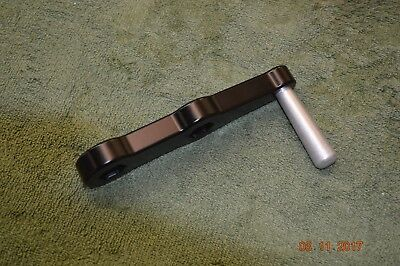 Speed Vise Handle Fits Kurt And Others With 3/4 Hex Black Anodize