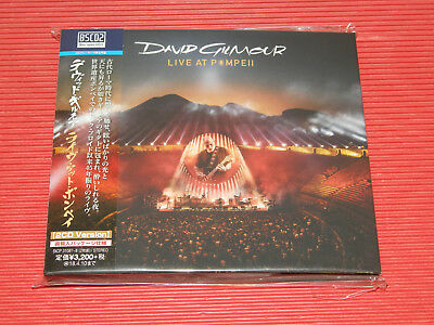 DAVID GILMOUR LIVE AT POMPEII JAPAN ONLY Blu-spec CD DIGI SLEEVE PINK FLOYD