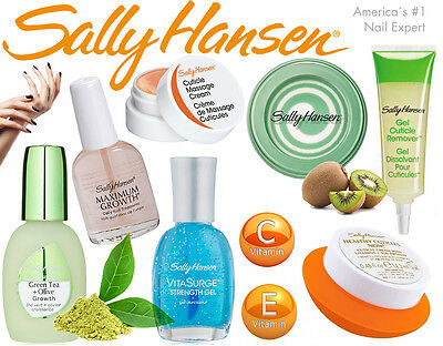 Sally Hansen Nail Treatment Growth Moisturizer Cuticle Remover 7 Variations